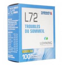 L72 Sleeping troubles...