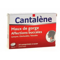 Cantalène Sore throat 24 tablets