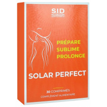 Solar Perfect - Prepares, Sublime, Extends - SID Nutrition - 30 Tablets