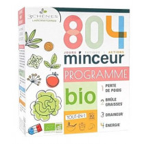 804 Minceur - organic program - all in one - 3 chênes