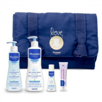 Vanity With Changing Mat My First Products Mustela - navy blue
