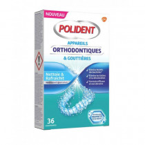 Polident Orthodontics Appliances and trays 36 tablets