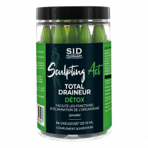 Detox - Total Drainer - Sculpting Act - S.I.D. Nutrition - 14 Unicadoses of 10 ml