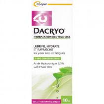 Dry Eye Moisturizer - Lubricates, Moisturizes and Refreshes - Dacryo - 10ml