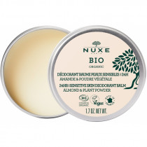 Deodorant Balm for Sensitive Skin - 24h - Almond and Plant Powder - Nuxe Bio - 50g