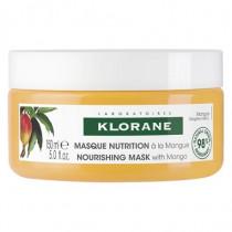 Masque Beurre de Mangue - Cheveux Secs - Klorane - 150 ml