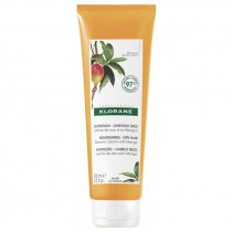 No-Rinse Day Cream with Mango Butter - Dry Hair - Klorane - 125 ml