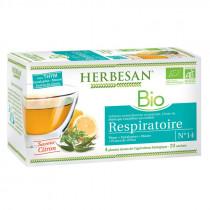 Naturally Flavored Infusion - Thyme - Respiratory Comfort - N°14 - Organic - Herbesan - 20 Sachets