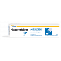 Antiseptic - Superficial Wounds - Hexomedine - Cooper - 30g