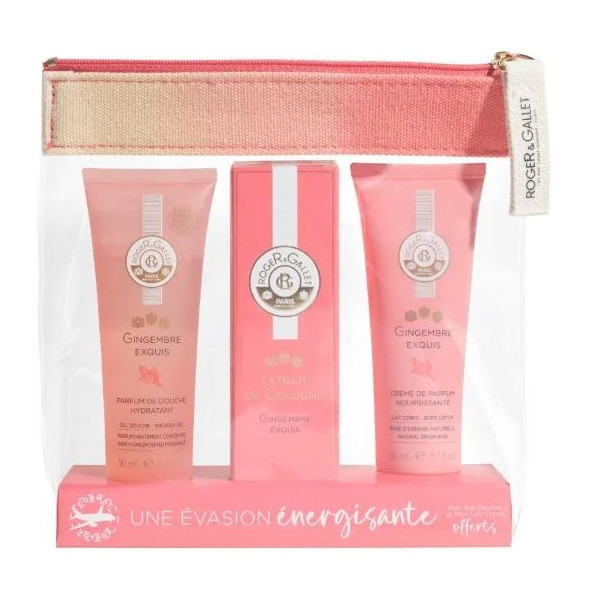 Travel size pouch - Gingembre Exquis - Roger & Gallet