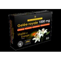 Gelée Royale - 1000mg - Oligoroyal - 5G - S.I.D. Nutrition - 20 Ampoules de 10ml