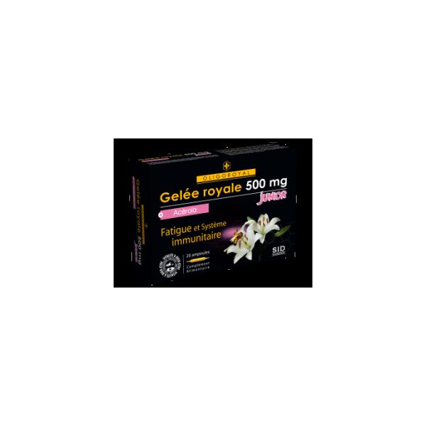 Royal Jelly - 500mg - Junior - Oligoroyal - S.I.D. Nutrition - 20 Ampoules of 10ml
