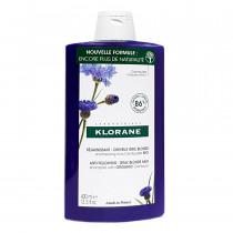 Shampoing à la Centaurée - Déjaunissant - Cheveux Blancs ou Gris - Klorane - 400 ml