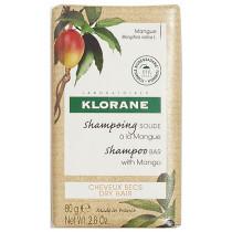 Solid Shampoo With Mango Dry Hair Klorane 80g