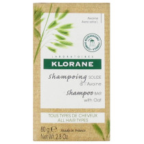 Solid Shampoo with Oats Klorane 80g