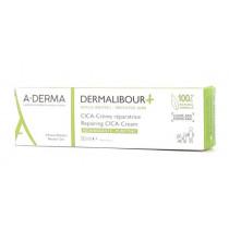 CICA-Reparative Cream - Dermalibour + - Irritated Skin - A-Derma - 50ml