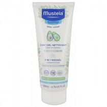 2 In 1 Hair And Body Cleansing Gel - Mustela - 200 ml