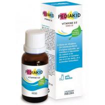 Vitamins D3 - Goût Neutre - Pediakid - Ineldea - 20ml