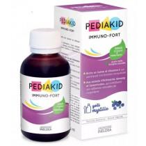 Agave syrup + Prebiotics - Immuno-Fort - Blueberry taste - Pediakid - Ineleda - 125ml