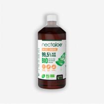 Liquid Gel - Nectaloe - 99.5% Aloe Vera - Organic - Santé Verte - 1L