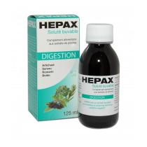 Dietary supplement - Digestion - Drinkable Solution - Hepax - 125ml