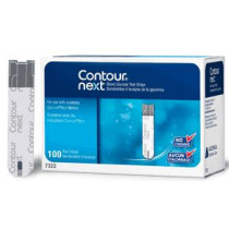 Contour Next Glycaemia Test Strips – Pack of 2 X 50