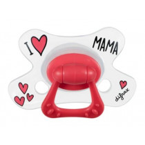 Pacifier Natural - I Love Mama - Difrax - +12 Months