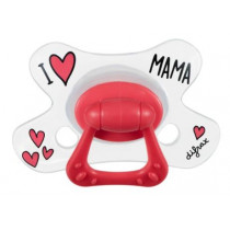 Natural Pacifier - I Love Mama - Difrax - + 20 Months