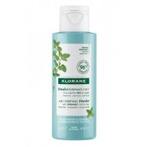 3 in 1 Purifying Powder with Aquatic Mint - Klorane - 50g